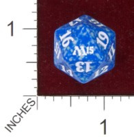 Spindown Dice (D-20) - Magic 2015 (M15) - Blue