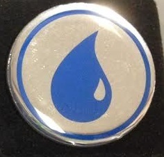 Magic the Gathering Mana Symbol Pin - Blue
