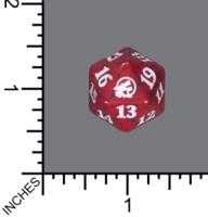 Spindown Dice (D-20) - Innistrad: Midnight Hunt (Red)