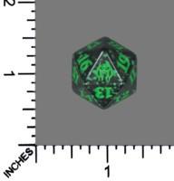 Spindown Dice (D-20) - Guilds of Ravnica - Golgari (Black/Green)