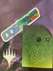MTG Commander Life Counter - Zendikar Rising (Green)
