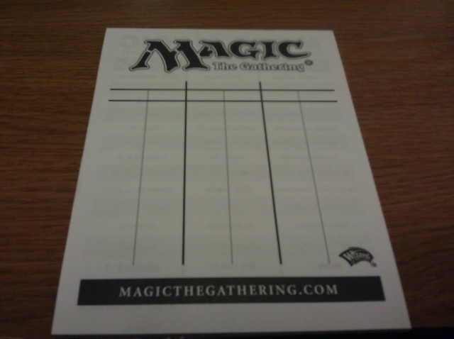 picture regarding Magic the Gathering Printable titled MTG Existence Pad - Gaming Resources » Lifetime Counters -