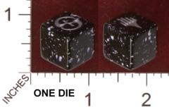 Planechase 2012 Dice (Black/White)