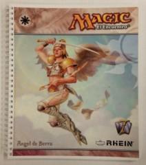 Serra Angel Spiral Notebook