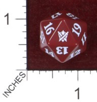 Spindown Dice (D-20) - Khans of Tarkir (Mardu)