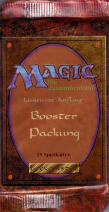 Revised Booster Pack - German (Black Bordered)