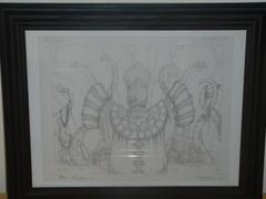 Patriarch's Bidding - Original Sketch