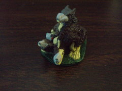 Plague Rats Pewter Miniature - Painted