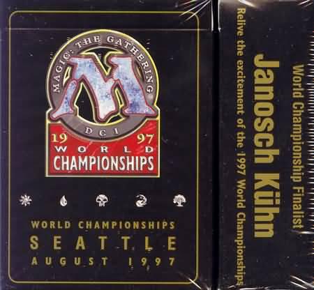 1997 Janosch Kuhn World Champ Deck