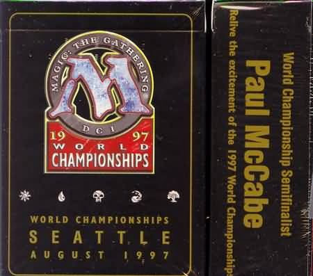1997 Paul McCabe World Champ Deck