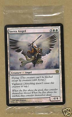 Serra Angel FOIL - 9th Ed - Sealed