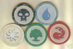 Mana Symbol Poker Chip Set of 5