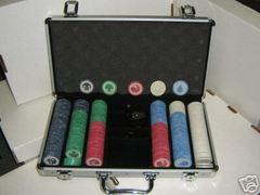 Mana Symbol Poker Chip Set of 300 w/ Case