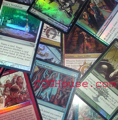 100 Foil Cards (10R & 90C/U)