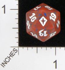 Spindown Dice (D-20) - Worldwake (Red)
