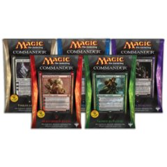 Commander 2014: Set of 5