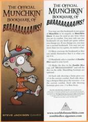 Munchkin: Braaaaaaaains! Bookmark