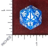 Spindown Dice (D-20) - Oath of the Gatewatch (Blue)