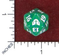 Spindown Dice (D-20) - Shadows over Innistrad (Green)