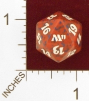 Spindown Dice (D-20) - Magic 2011 (M11) - (Red)