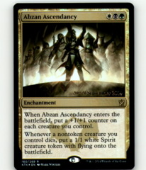 Abzan Ascendancy - KTK Prerelease