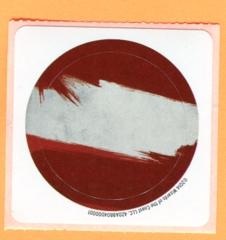 MTG Khans of Tarkir Prerelease Sticker - Mardu