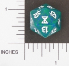 Spindown Dice (D-20) - Time Spiral (Green)