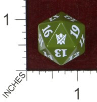 Spindown Dice (D-20) - Khans of Tarkir (Temur)