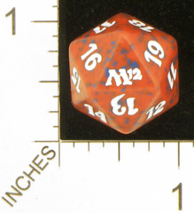 Spindown Dice (D-20) - Magic 2012 (M12) - Red