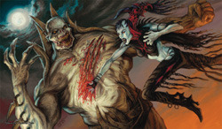 Artists of Magic Playmat - Nosferatu vs. Zombielord