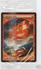 Lightning Bolt Foil - Textless (Sealed)