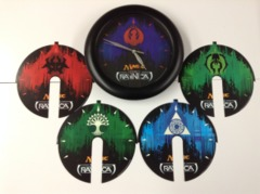 Magic the Gathering - Return to Ravnica Wall Clock + 5 Faces