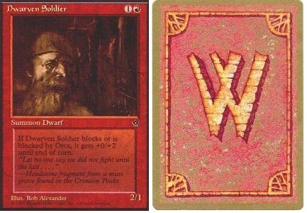 4 Dwarven Armorer = Red Fallen Empires Mtg Magic Rare 4x x4