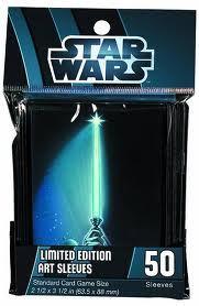 Star Wars Limited Ed. Sleeves - Lightsaber (50 ct.)