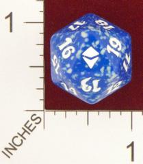 Spindown Dice (D-20) - Zendikar (Blue)
