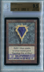 Mox Sapphire (Beta) -  BGS GEM MINT 9.5 (QUAD)
