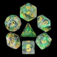 Luminous Venom 7 Die Dice Set (E2)