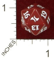 Spindown Dice (D-20) - Fate Reforged (Mardu)