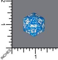 Spindown Dice (D-20) - Core Set 2020 (Blue)
