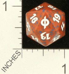 Spindown Dice (D-20) - New Phyrexia (Red)
