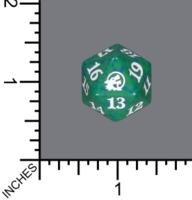 Spindown Dice (D-20) - Innistrad: Midnight Hunt (Green)