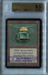 Mox Emerald (Alpha) - BGS GEM MINT 9.5 (w/10 sub)
