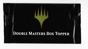 Double Masters Box Topper Pack