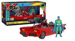 2017 SDCC Exclusive Funko Action Figures: Red Batmobile with Green Batman (1500 LE)