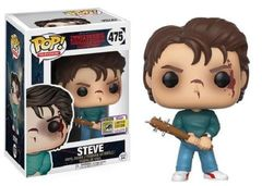 2017 SDCC Exclusive Funko Pop! Television: Stranger Things Steve #475