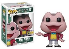2017 SDCC Exclusive Funko Pop! Disney: Mr Toad's Wild Ride Mr. Toad