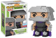 2017 NYCC Exclusive Pop! - 8-Bit: TMNT – Shredder