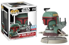 2017 NYCC Exclusive Pop! - Deluxe: Star Wars - Boba Fett with Slave I