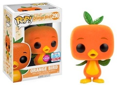2017 NYCC Exclusive Pop! - Disney Parks - Flocked Orange Bird