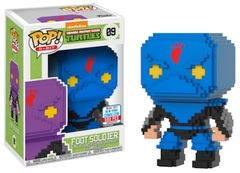 2017 NYCC Exclusive Pop! - 8-Bit: TMNT Foot Soldier (Blue)